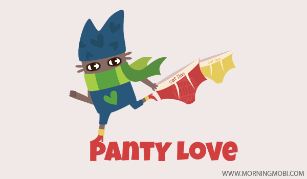 Mysterious Panty Lover, Character design - MorningMobi.com