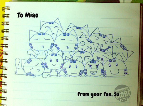 Miao's Fan art - MorningMobi.com