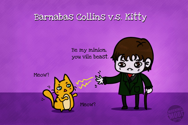 Movie Fanart Barnabas Collins Dark Shadows - MorningMobi Web Comics Cute Character
