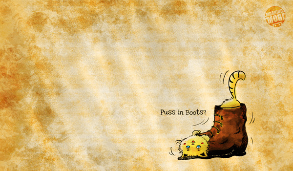 puss in a boot wallpaper - MorningMobi Cute Characters