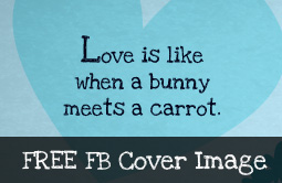 Funny Love Theme Facebook Cover Image - MorningMobi.com
