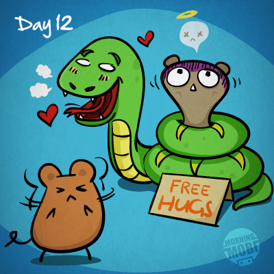 Snake 30 day diary - MorningMobi Web Comics