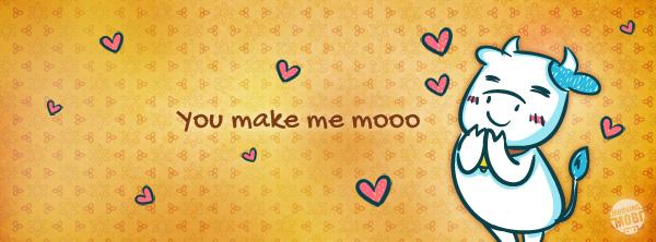 Cow Love Facebook image - MorningMobi