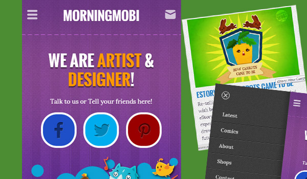 MorningMobi Mobile Website