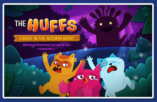 The Huffs Fright in the Autumn Night