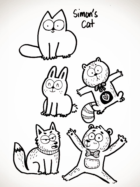 26 Studying Simon's Cat