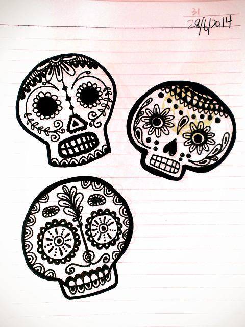 31 Sugar Skulls