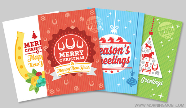 Portfolio - Christmas greeting cards