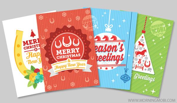 Portfolio - Christmas greeting cards