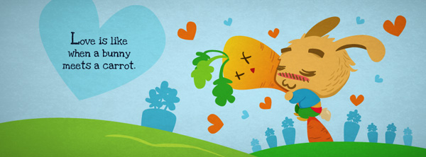 Funny Love Theme Facebook Cover Image - MorningMobi.com