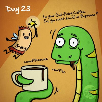 Snake 30 day diary - MorningMobi Web Comics