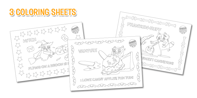 Free Coloring Sheets The Huffs