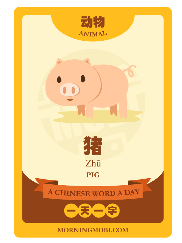 A Chinese Word A Day PIG