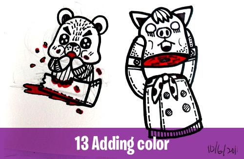 13 Adding color creative habits