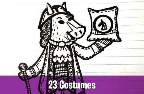 23 Costumes