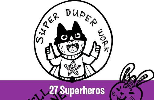 27 Superheros