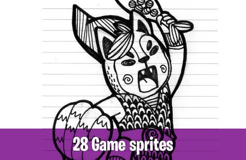 28 Game sprites