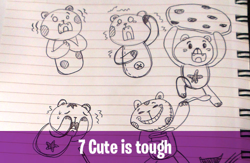 7 Cute is tough creative habits