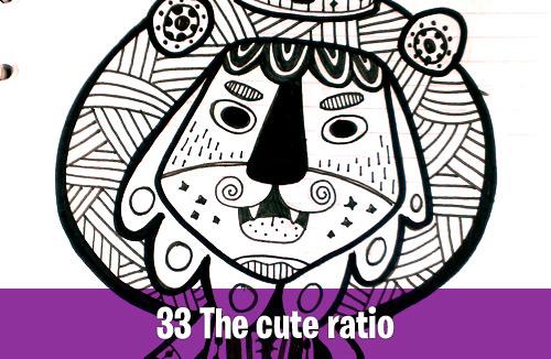 33 The cute ratio