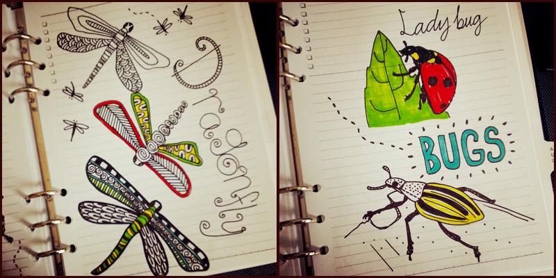 MorningMobi Su Ann Year of Creative Habits Drawing