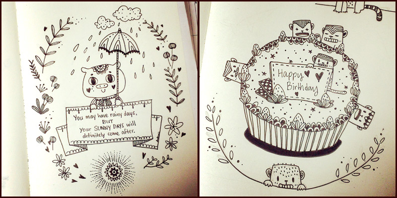 MorningMobi Year of Creative Habits INKtober